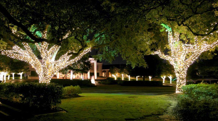outdoor christmas lighting decor